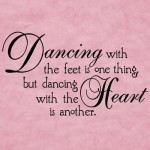 dance with heart