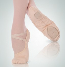 Luzio Canvas ballet shoe