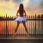 sunsett ballerina